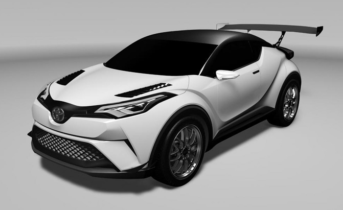toyota c hr to compete at 2016 nurburgring 24 hours. Black Bedroom Furniture Sets. Home Design Ideas