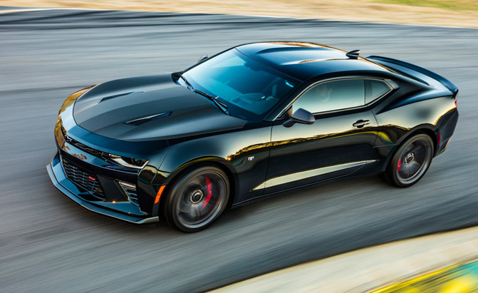 Is A Diesel Hybrid Or All Wheel Drive Chevy Camaro In The