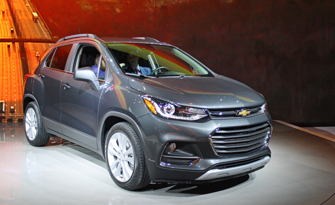 2017 Chevy Trax Shows its New Face » AutoGuide.com News