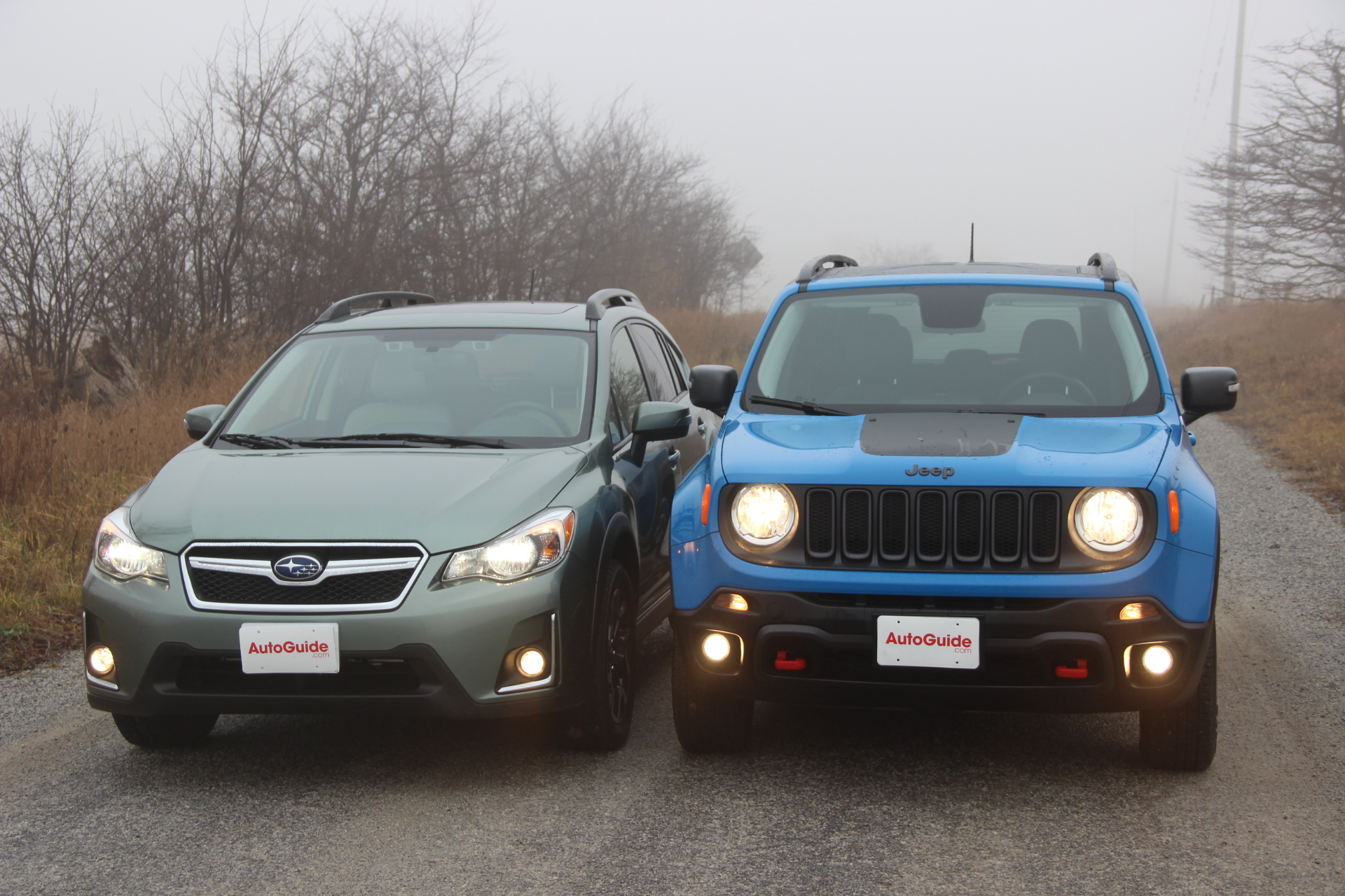 2016 Jeep Renegade vs 2016 Subaru Crosstrek AutoGuide