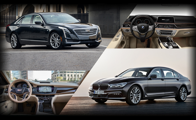 Cadillac CT6 or BMW 7 Series