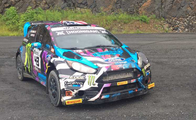 Rally Car Racing >> Ken Block Is Selling One Of His Ford Fiesta St Rally Race Cars