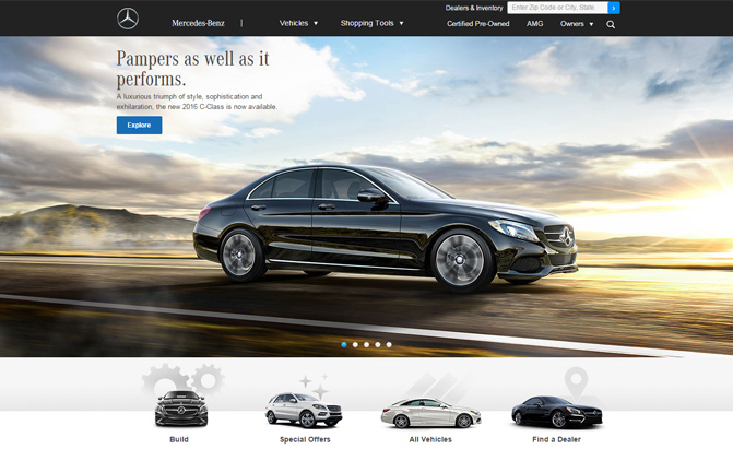 these 5 automakers have the best websites