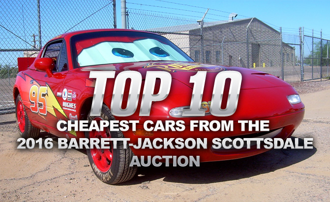 Local Car Auctions >> Top 10 Cheapest Cars From The 2016 Barrett Jackson