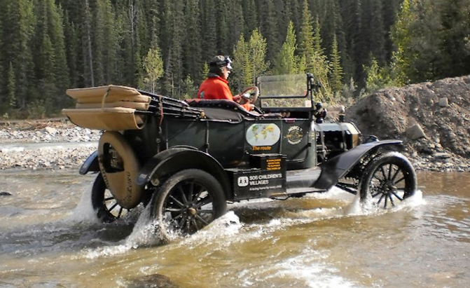 Year Old Ford Model T Driving Around The World