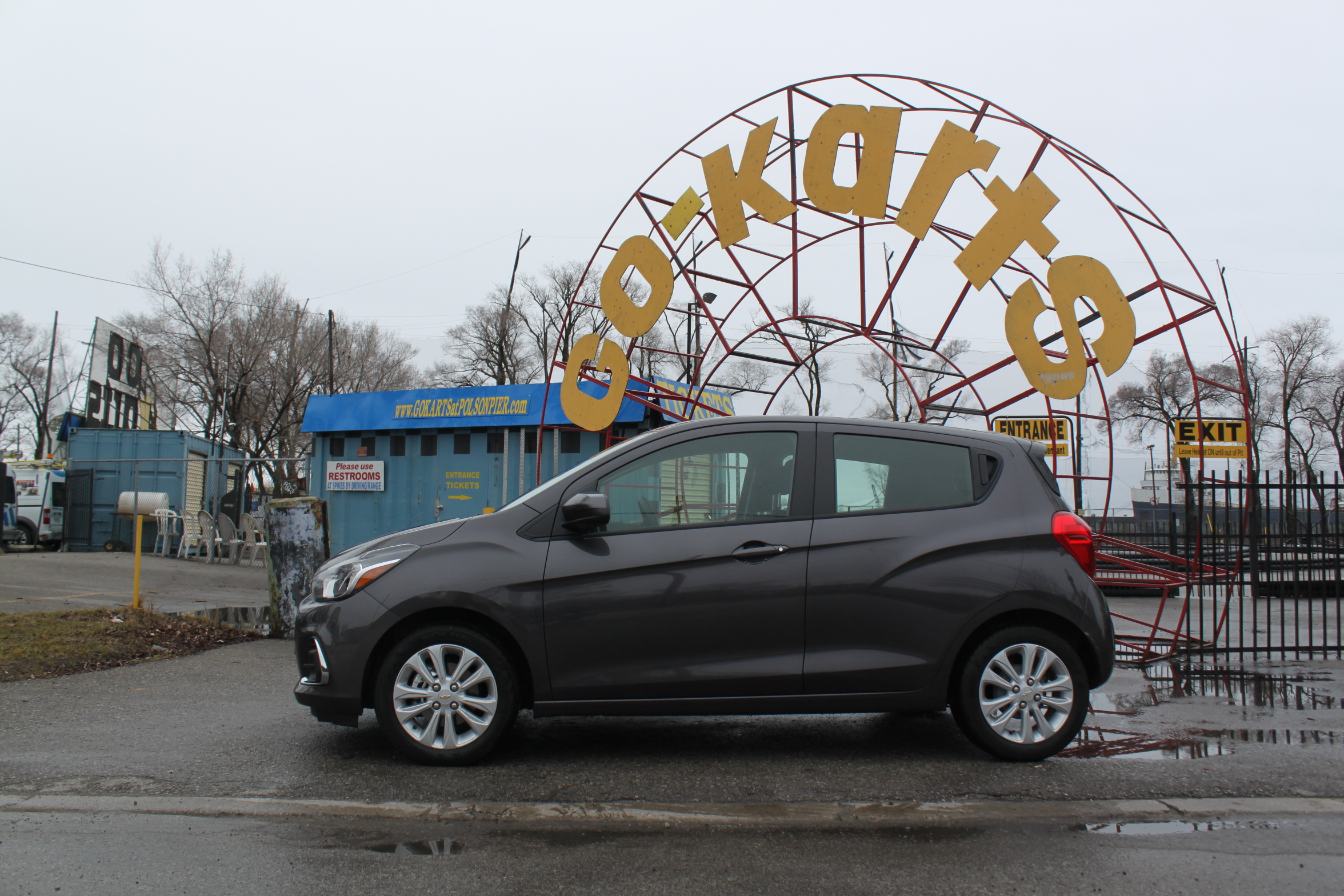2016 Chevrolet Spark Review Side Profile Carts