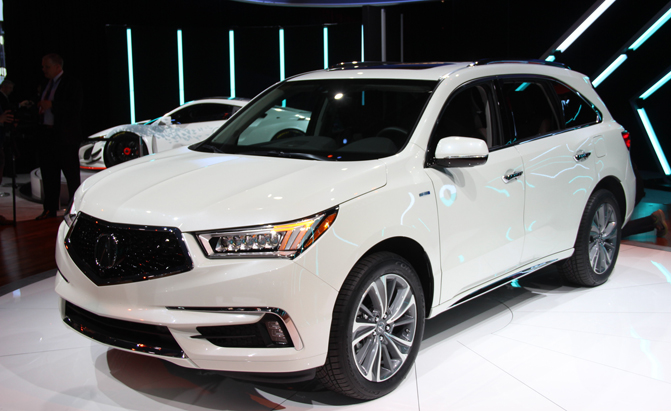 2017 Acura Mdx Gains New Face  Tech And Power  U00bb Autoguide
