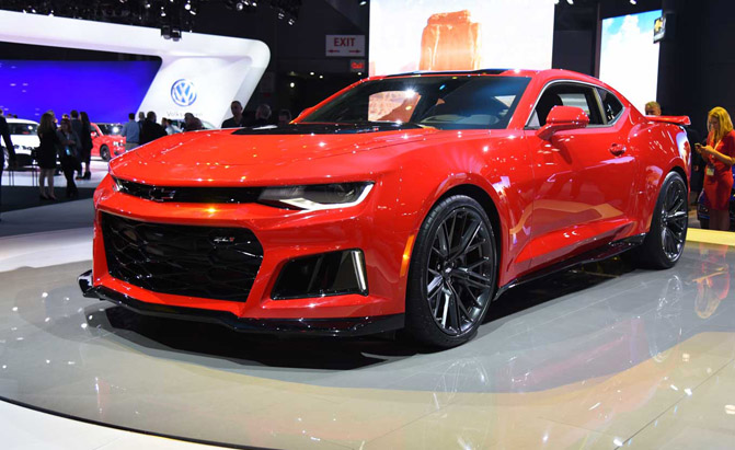 2017 Chevy Camaro ZL1 Arrives with 640 HP Sent Through 10 ...