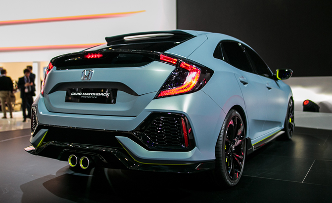 6 things we learned about the 2017 honda civic hatchback for Used 2017 honda civic hatchback