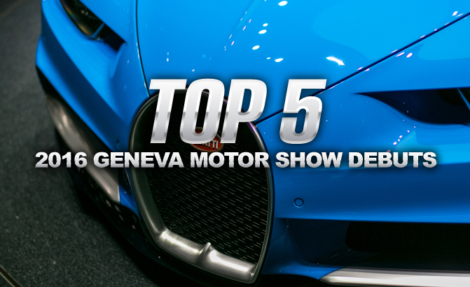 top 5 best debuts from the 2016 geneva motor show. Black Bedroom Furniture Sets. Home Design Ideas