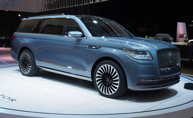 2018 Lincoln Navigator Concept An Outrageous Suv With
