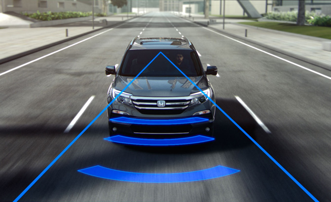 Car Warning Light >> Automatic Emergency Braking to Become Standard by 2022 » AutoGuide.com News