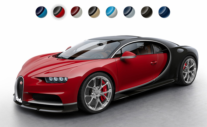 Which of these 8 Bugatti Chiron Color Combos is Your ...