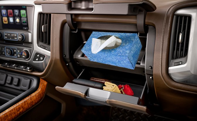 best places in your car to put a tissue box autoguide com news