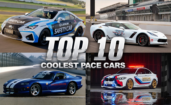 Top 10 Coolest Safety And Pace Cars Weu0027ve Ever Seen