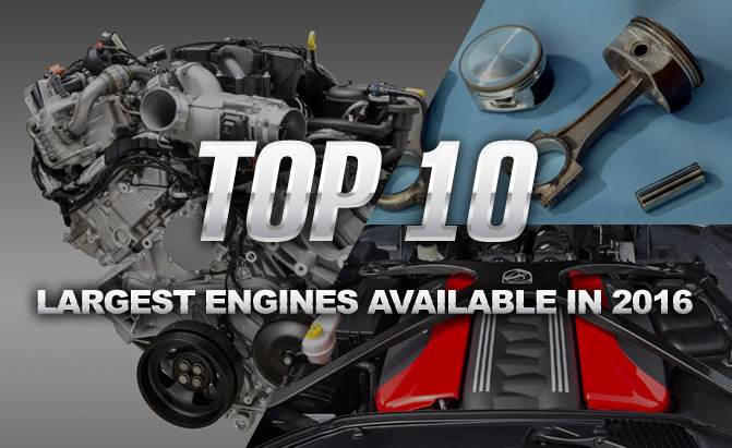 Top 10 Largest Engines
