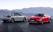 2017 Audi TT RS Coupe and Roadster Debut with 400 HP, No Manual