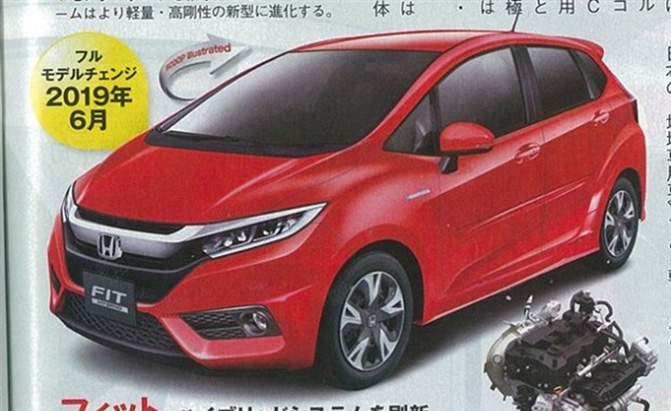 2019 honda fit rumored to receive 1 0l turbo engine