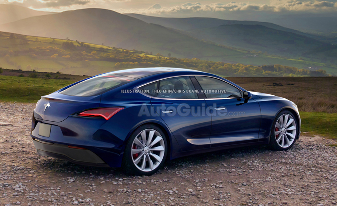These Renders Of A 2020 Tesla Model S Look Exactly Like A