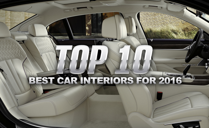 Top 10 Best Car Interiors You Can Buy In 2016