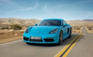 2017 Porsche 718 Cayman Revealed in all its Turbocharged Glory