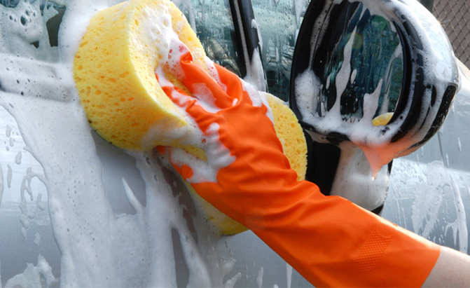 car wash carwash sponge clean