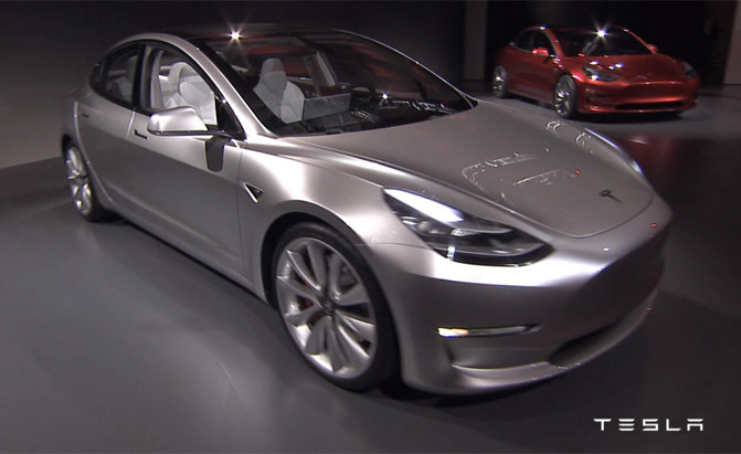 5 Facts That Were Just Unveiled About The Tesla Model 3