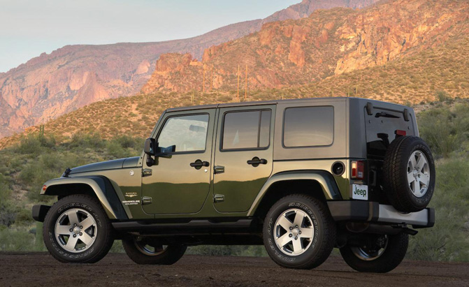 older jeep wranglers recalled over airbag issue. Black Bedroom Furniture Sets. Home Design Ideas