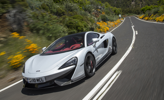McLaren Considering FourSeat Sports Car AutoGuidecom News - Sports cars with back seats