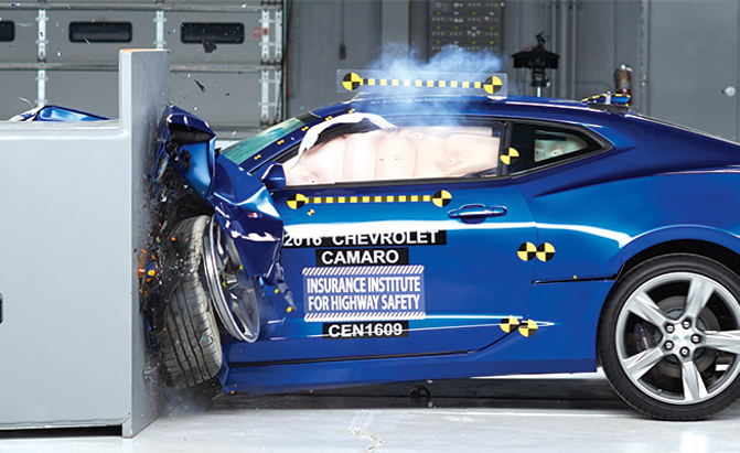 No Pony Cars Awarded As A Top Safety Pick