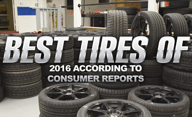 Consumer Reports Best Tires Of 2016 Autoguide Com News