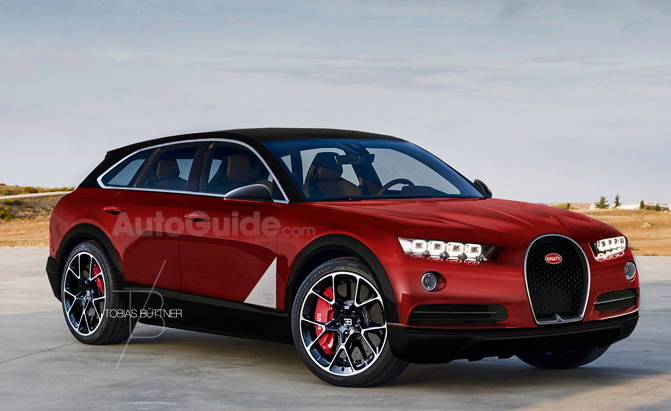 Acura Suv 2016 >> Is This Imagined Bugatti SUV Crazy Awesome or Crazy Stupid? » AutoGuide.com News