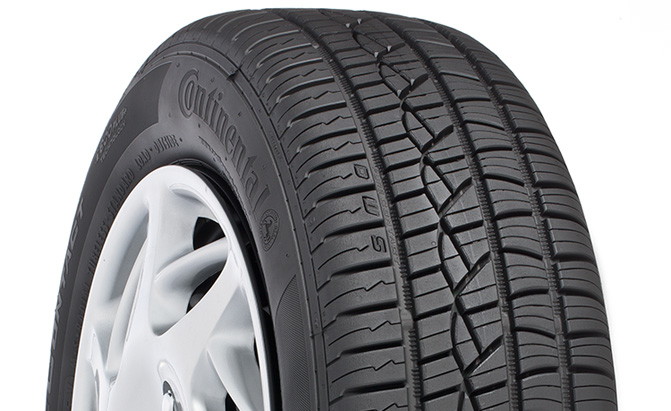 Best Performance All Season Tire Continental Purecontact