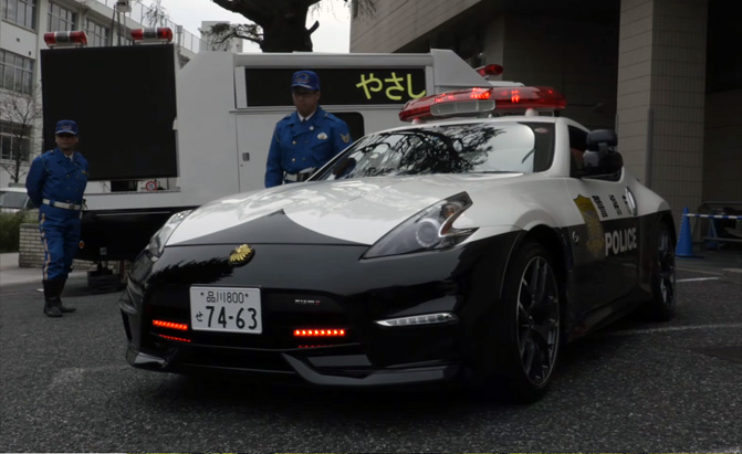 Japan Police Car Archives AutoGuidecom News - Sports cars vs police