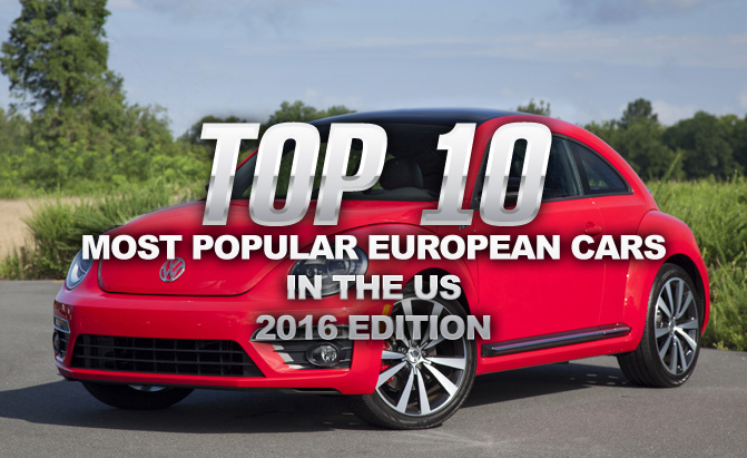 top 10 most popular european cars in the us news. Black Bedroom Furniture Sets. Home Design Ideas