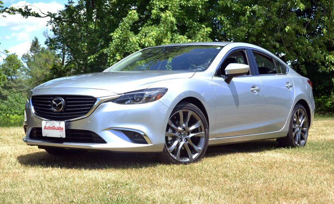 Used Nissan Altima >> 2016 Mazda6 Grand Touring Review - AutoGuide.com