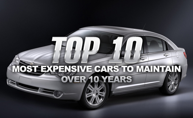 top 10 most expensive cars to maintain over 10 years news. Black Bedroom Furniture Sets. Home Design Ideas