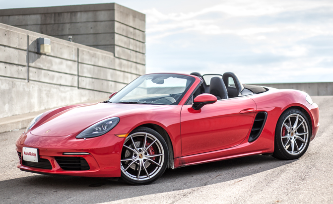 2017 porsche 718 boxster s review news. Black Bedroom Furniture Sets. Home Design Ideas