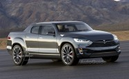 Upcoming Tesla Pickup Truck Imagined by Artist
