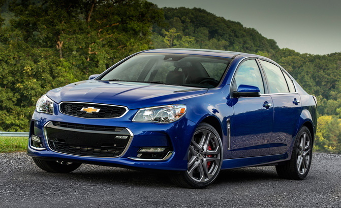 2017 Chevrolet Ss Rumored To Get Supercharged 6 2l V8