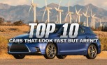 Top 10 Cars That Look Fast But Aren't