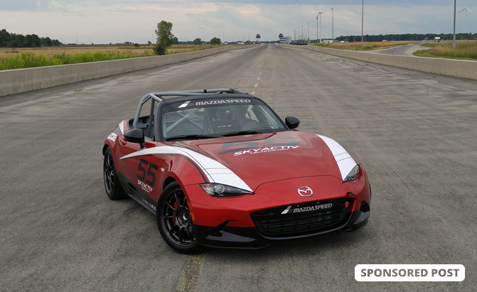 10 cars the mazda mx 5 miata cup car beat around our test track news. Black Bedroom Furniture Sets. Home Design Ideas