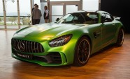 Mercedes-AMG GT R Stands Out Among Supercars During US Debut
