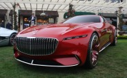 Mercedes-Maybach Reveals Outrageous Electric Ultra-Luxury Coupe with Gullwings