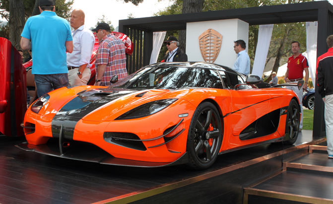 Koenigsegg Agera Xs Is The Perfect Fit At Pebble Beach