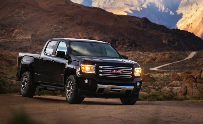 Spot Loan Reviews >> 2017 GMC Canyon Adds Eight-Speed Auto, All Terrain X Off ...
