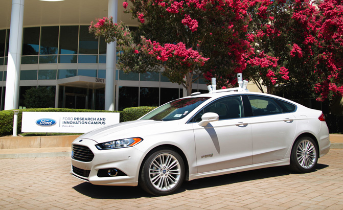 Ford Fusion Parts >> Ford Aiming for Self-Driving Cars by 2021 with No Steering ...