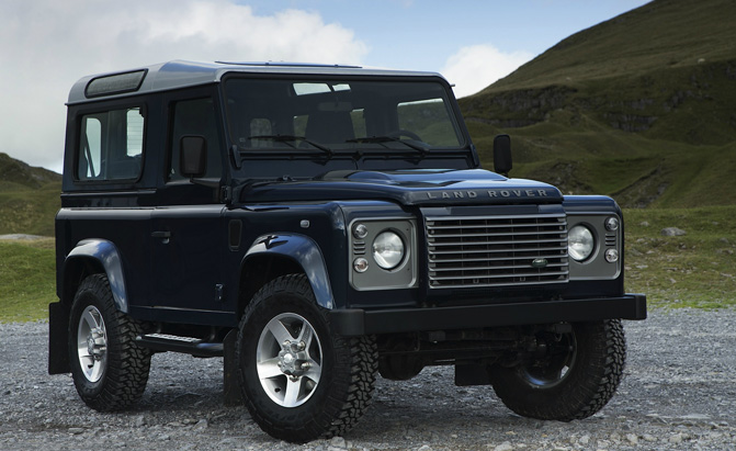 Land Rover Defender Reportedly Getting An All Electric Variant Autoguide News