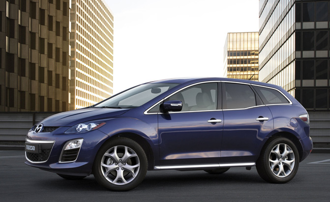 older mazda cx 7s recalled to fix steering issue news. Black Bedroom Furniture Sets. Home Design Ideas