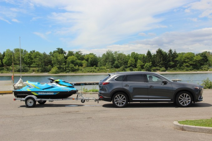 2016 Mazda CX-9 Long-Term Test Update: Towing Trailers ...